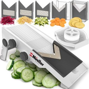 Adjustable-mandoline-slicer-for Zucchini